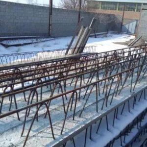 تیرچه ساختمانی تیر حصاری بتنی