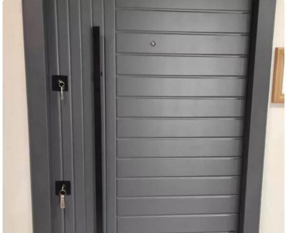 درب ضدسرقت مدرن طوسی در اتاق ضدآب فلز ورودی ویلا