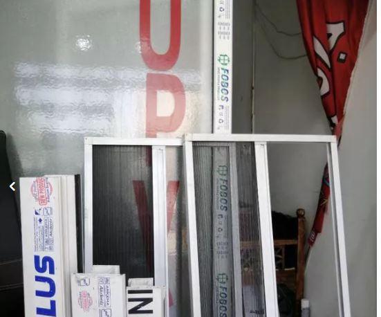 درب و پنجره دوجداره upvc توری پلیسه بدون واسطه