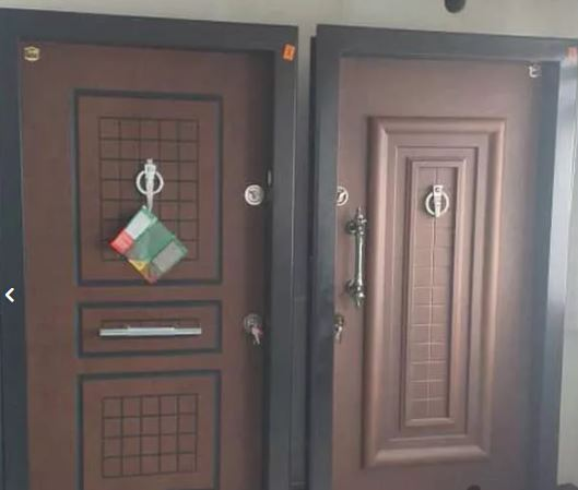 درب ضد سرقت روکش راش pvc انواع ضدسرقت رویه فلز