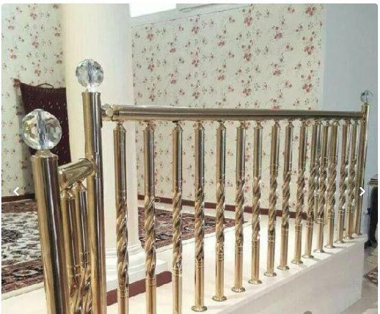 نرده استیل راه پله تراس پله استخری