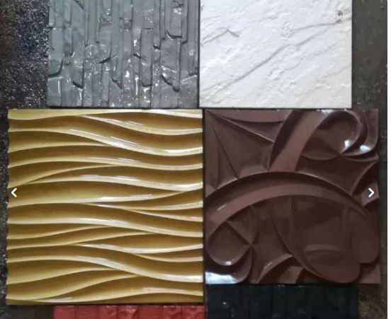دیوار پوش سنگ مصنوعی نانو پلیمری 3بعدی، بتن اکسپوز