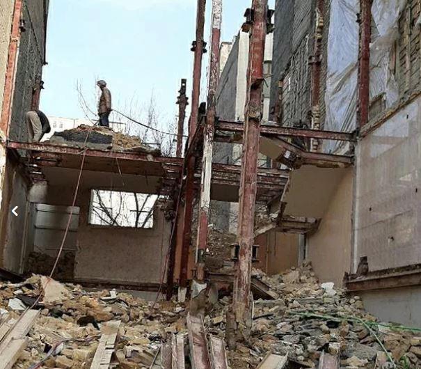 تخریب ساختمان وخاکبرداری گروه(مشهدالرضا)باپروانه