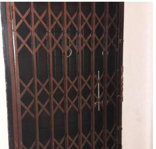 درب کشویی حفاظ درب اکاردیونی محافظ درب ورودی