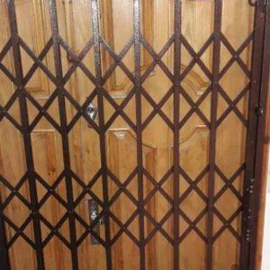 درب اکاردیونی حفاظ کشویی محافظ درب ضدسرقت