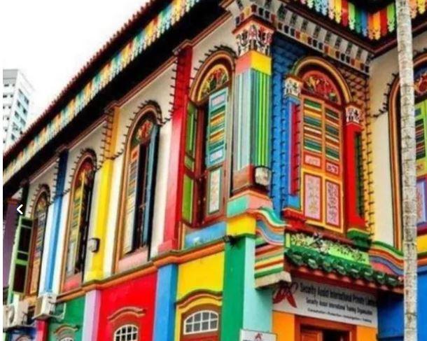 نقاشی ساختمان سجاد شهر در دوشیفت کاری