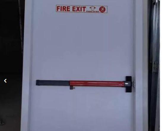 درب ضد حریق با تاییدیه آتش نشانی