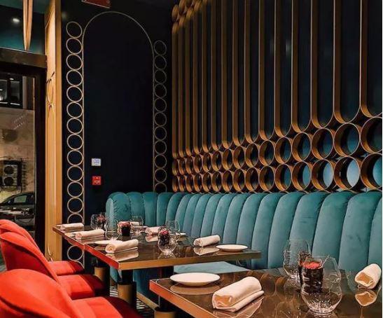طراحی دکوراسیون داخلی رستوران فست فود کافی شاپ