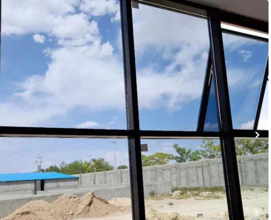 درب و پنجره آلومینیومی دوجداره نما شیشه لامل