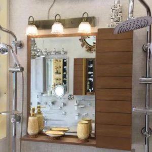 آینه باکس روشویی دستشویی اتاق سرویس بهداشتی