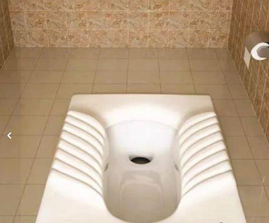 توالت ایرانی گاتریا مدل گاتریا ابرویی کوچک