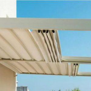 سقف متحرک، سایبان،پرده شید،گرماتاب