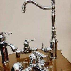ست کامل شیر آلات تیام مدل قاجار