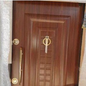 درب ورودی اپارتمان-درب چوبی-بایراق ترک