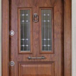 درب ضد سرقت مناسب لابی شیشه خور ورودی ساختمان