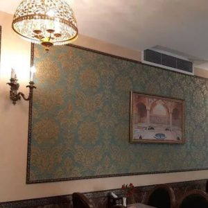 سقف کاذب دیوار پوش کناف کاغذ دیواری قرنیز تایل cnc
