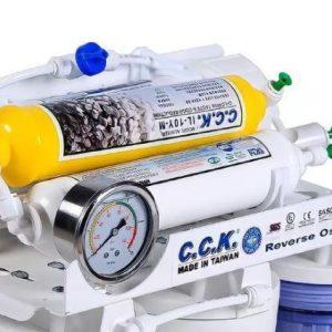 دستگاه تصفیه آب ۷مرحله ایCCK بایکسال گارانتی