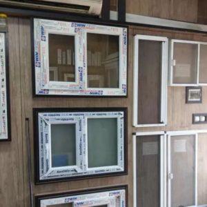 پنجرهupvc آلومنیومی دوجداره درب بالکن تراس