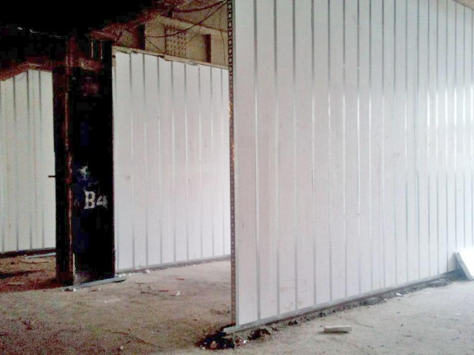 مشاوره فروش و اجرای دیوارهای غیرباربر آماده