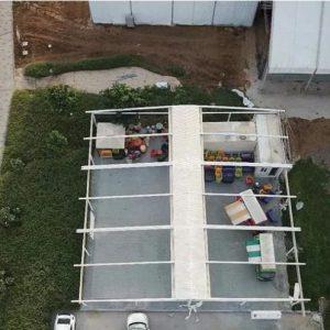 فروش سقف های متحرک پارچه ای آلومینیومی،شیشه ای