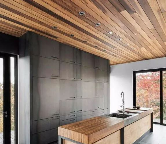 دیوارکوب و سقف کاذب چوب