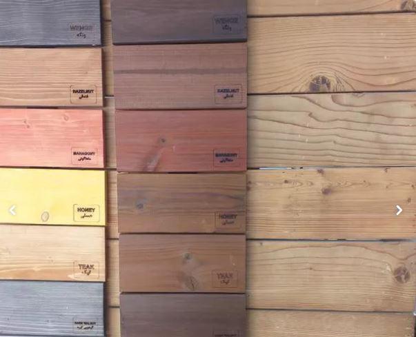 چوب ترموود و رنگ ترموود