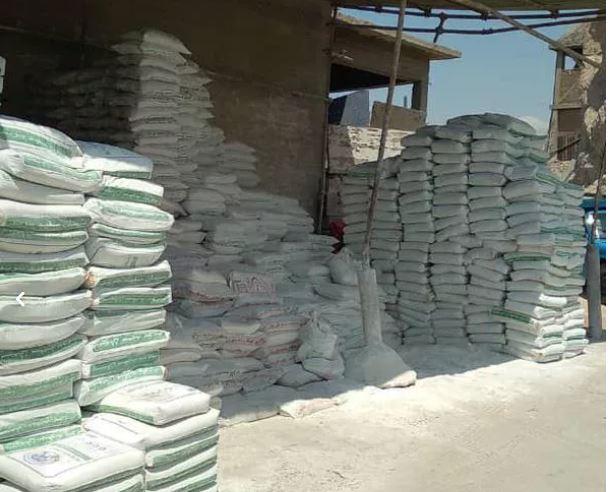 فروش مصالح ساختمانی سیمان گچ ماسه آجر